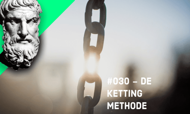 #030 – De ketting methode ~ Epictetus